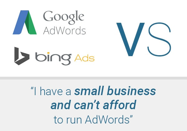 """I Have a Small Business & Can't Afford to Run AdWords"""