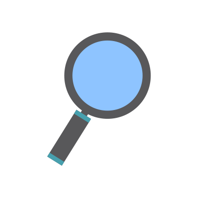 consumer research magnifying glass